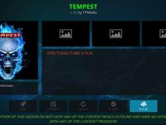 Tempest Addon Guide
