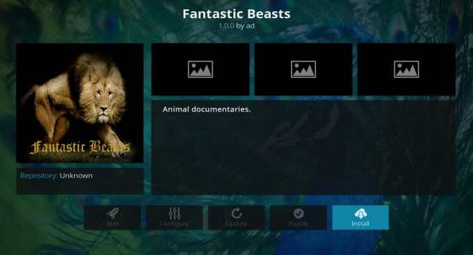 Fantastic Beasts Addon Guide