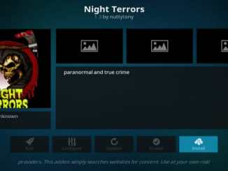 Night Terrors Addon Guide
