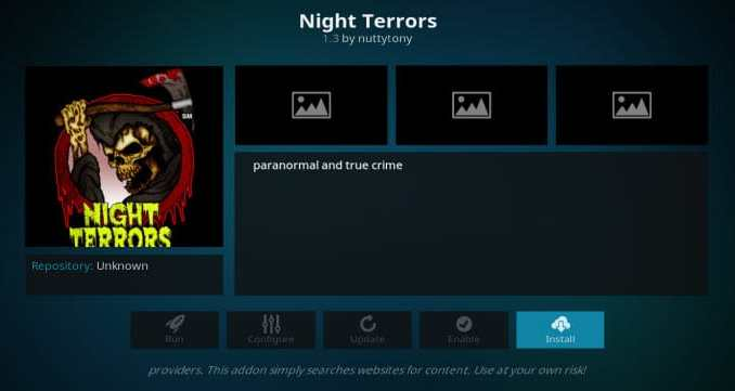 Night Terrors Addon Guide