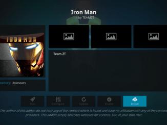 How to Install IRON MAN on Kodi 17.6 Krypton