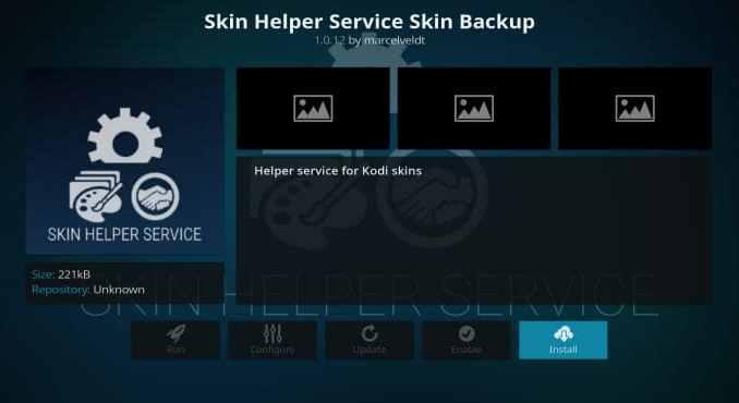 Skin Helper Service Skin Backup Addon Guide