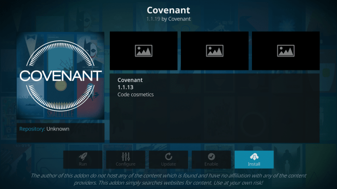How to Install Covenant on Kodi 17.6 Krypton [Updated]