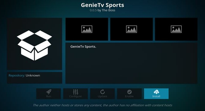 GenieTV Sports Addon Guide - Kodi Reviews
