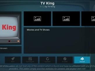 TV King Addon Guide - Kodi Reviews