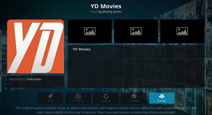 YD Movies Addon Guide - Kodi Reviews