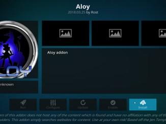 Aloy Addon Guide - Kodi Reviews