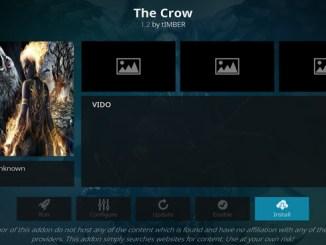 The Crow Addon Guide - Kodi Reviews
