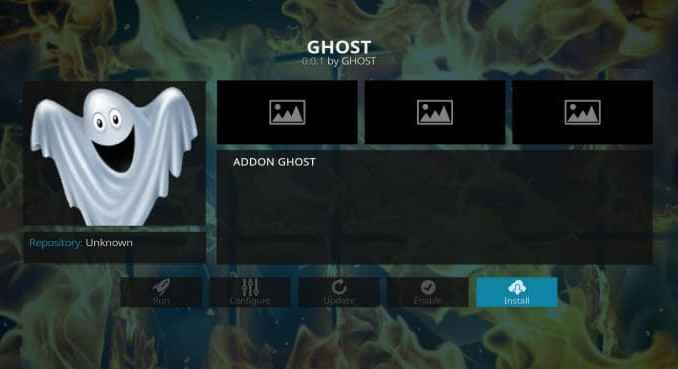 Ghost Addon Guide - Kodi Reviews