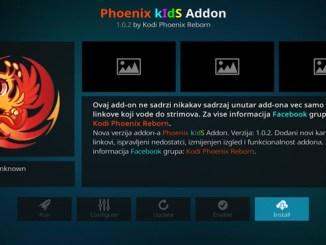 Phoenix Kids Addon Guide - Kodi Reviews
