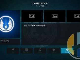 How to Install Resistance Live TV Addon on Kodi 17.6