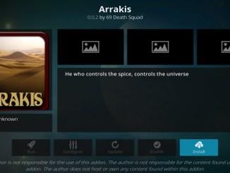 Arrakis Addon Guide - Kodi Reviews