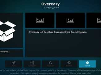 OverEasy Addon Guide - Kodi Reviews