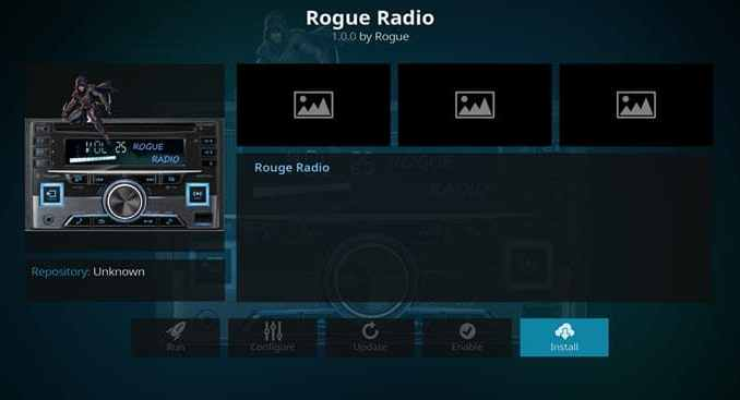 Rogue Radio Addon Guide - Kodi Reviews