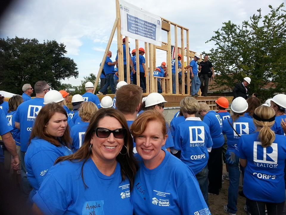 Habitat for Humanity New Orleans, Realtor Convention, Husker Home Finders