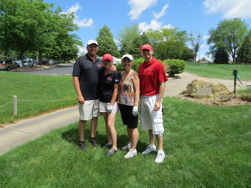 NP Dodge Golf Outing, Husker Home Finder Team, Golf Course Homes for Sale Omaha, NE