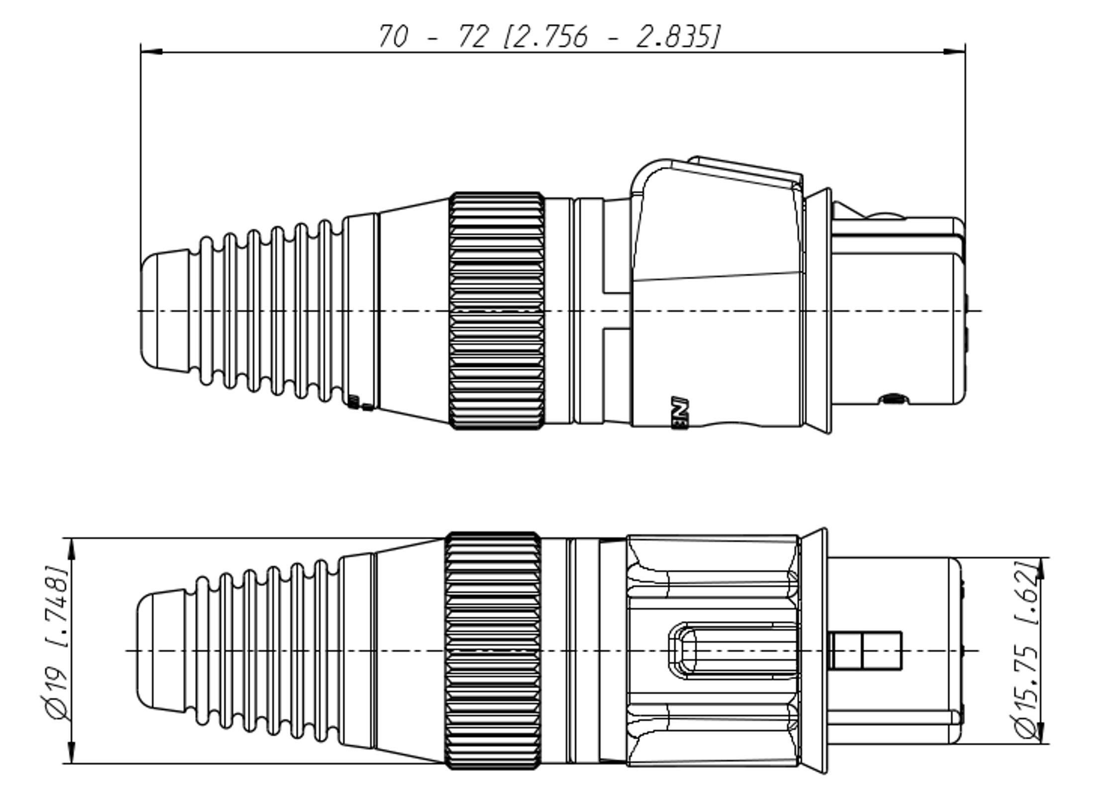 Neutrik Nc5fx Hd Xlr 5pol Stecker Gunstig Online Kaufen