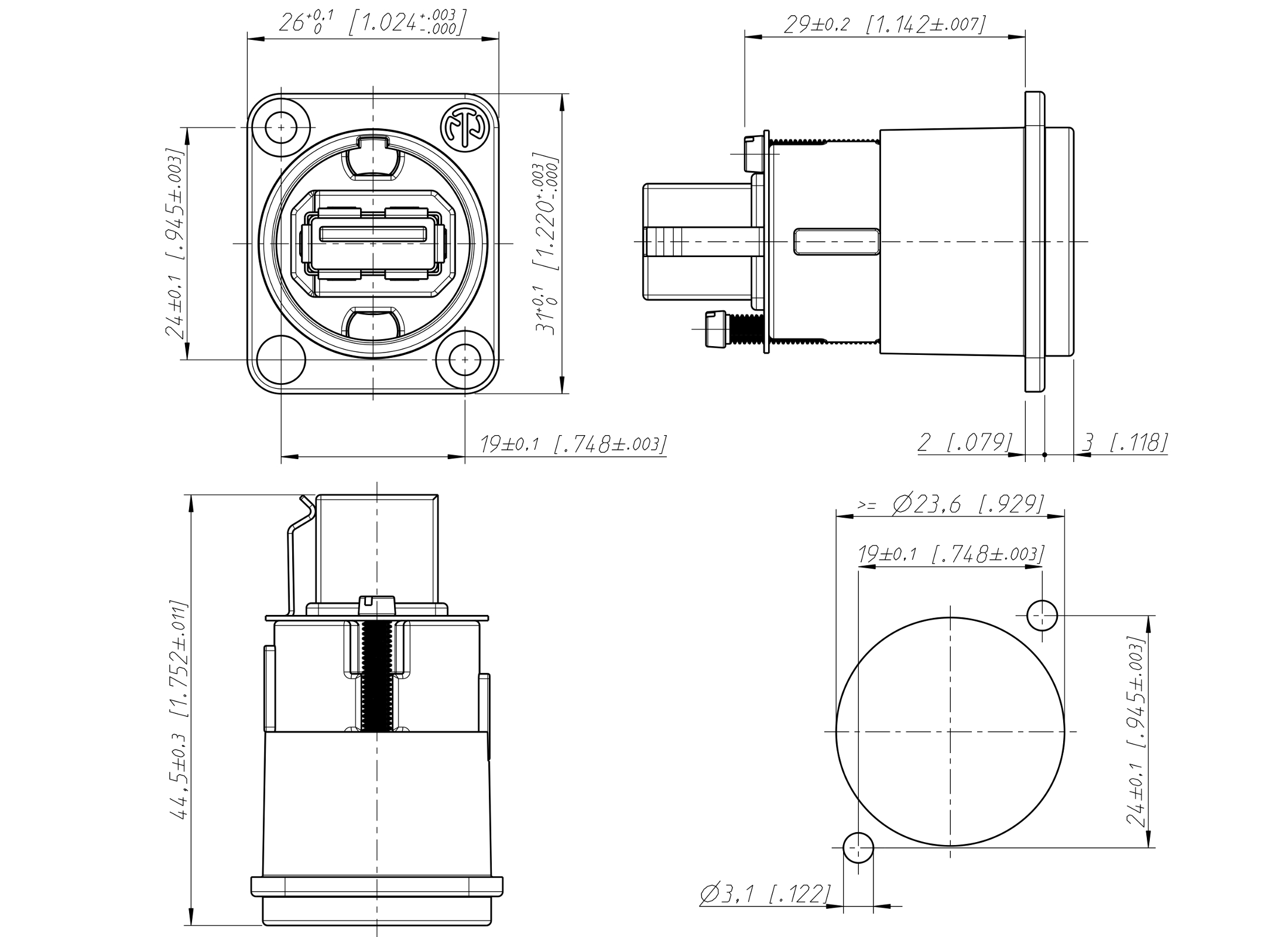 Audio Connector Schematic