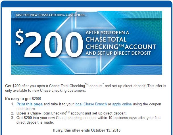 New Checking Account Bonus Offers (hustlermoneyblog.com)