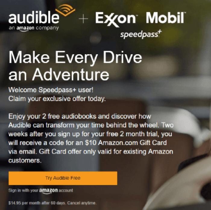 Audible gift membership promo code