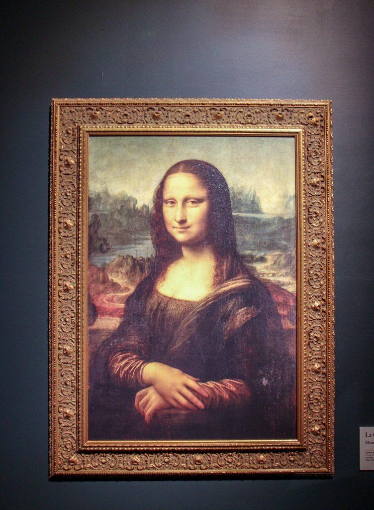 Mona Lisa på Kalmar slott.