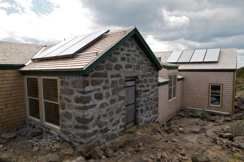 Madison Hut Exterior, Appalachian Mountain Club Huts Photos, hut2hut
