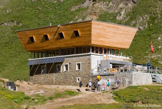Corno Gries Hut, Swiss Alpine Club, hut2hut