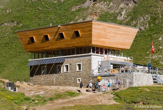 Corno Gries Hut, Swiss Alpine Club, hut2hut