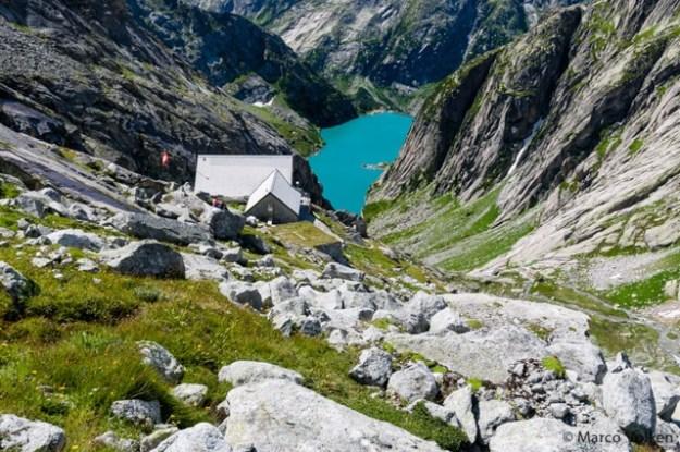 Gelmer Hut, Swiss Alpine Club, hut2hut