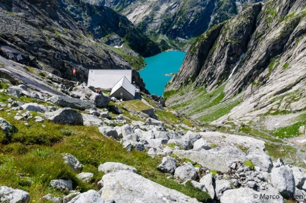 Gelmer Hut, Swiss Alpine Club, hut2hut