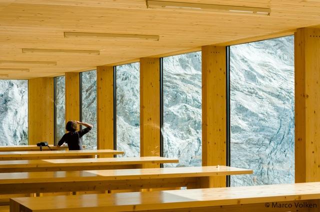 Moiry Hut Interior, Swiss Alpine Club, hut2hut