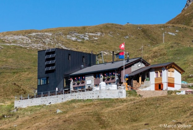 Motterasico Hut, Swiss Alpine Club, hut2hut