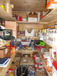 Food Closet, Den Norske Turistforening (DNT) at Rondvassbu Hut, hut2hut operational profile