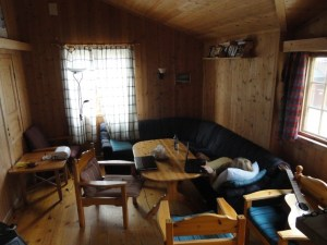 Staff living room, Den Norske Turistforening (DNT) at Rondvassbu Hut, hut2hut operational profile