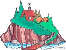 Alaska Huts Logo