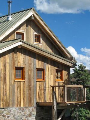 OPUS Hut in summer--photo courtesy Bob Kingsley
