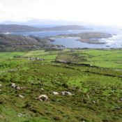 Derrynane National Park and Bay Photo by Peter Craine, via Wikimedia Commons
