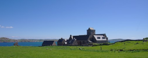 Iona-Abbey-View