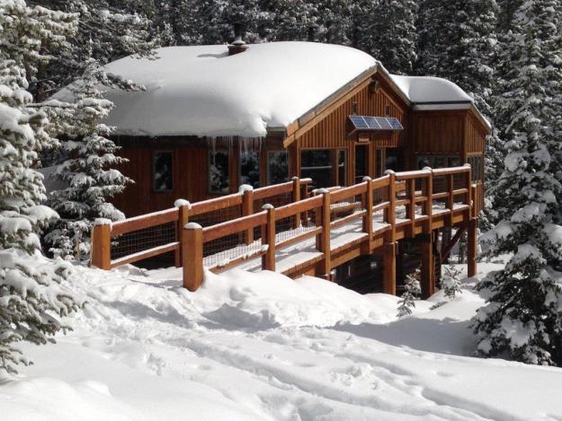 Betty Bear, 10th Mountain Division Huts, hut2hut