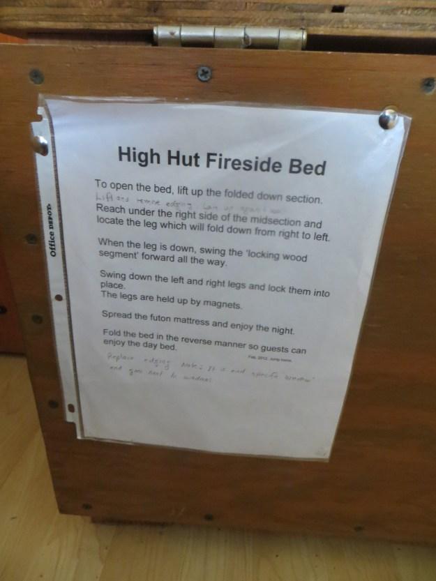 High Hut, Mount Tahoma Trails Association, hut2hut