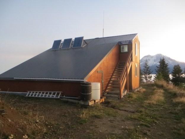 High Hut view, Mount Tahoma Trails Association, hut2hut