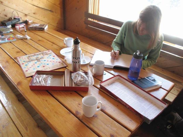 Hut interior, 10th Mountain Division Huts, hut2hut