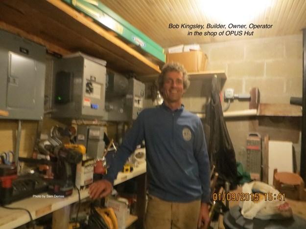 Bob Kingsley, OPUS Huts, hut2hut