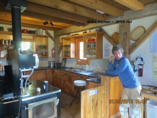 Bob's Kitchen, OPUS Huts, hut2hut