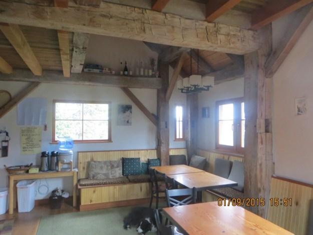 Living room, OPUS Huts, hut2hut