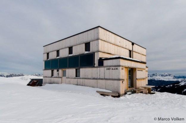Spitzmeilen Hut, Swiss Alpine Club, hut2hut