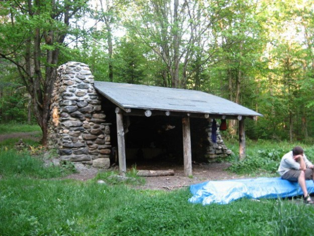 Governor Clement Shelter, Green Mountain Club Shelters, hut2hut