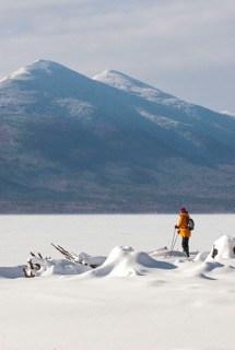 Flagstaff Lake and Bigelow Range, Maine Huts & Trails, hut2hut