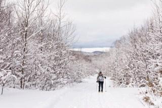 Flagstaff Lake Overlook, Maine Huts & Trails, hut2hut
