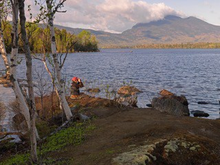 Lake View, Maine Huts & Trails, Maine Huts & Trails, hut2hut